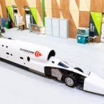 Автомобиль Bloodhound LSR готовится к началу высокоскоростных испытательных заездов