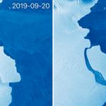 ОтАнтарктиды откололся айсберг весом 315 млрд тонн