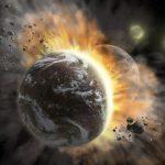 Астрономы стали свидетелями случая недавнего столкновения двух экзопланет