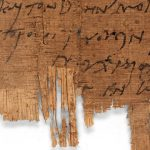 Найдено древнейшее письмо, написанное христианином