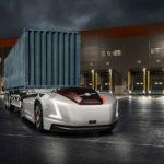 Грузовики-роботы Volvo Vera, не имеющие водительской кабины, получили их первую работу в одном из портов Швеции
