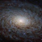 NASA показало галактику, выглядящую как портал виное измерение
