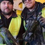 Водолазы подняли со дна моря 100-летние бутыли салкоголем