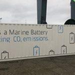 Машины-монстры: Огромная аккумуляторная батарея, предназначенная для огромного морского контейнеровоза