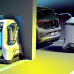Робот, который в одиночку справится с зарядкой целой стоянки, забитой электрическими автомобилями