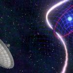"""Обнаружена система, звезды которой """"прядут ткань"""" из """"волокон"""" пространственно-временного континуума"""
