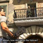 Serious Sam едет в Ватикан и угоняет Папамобиль в новом трейлере