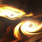 Астрономы зарегистрировали гравитационные сигналы от столкновения самых массивных черных дыр
